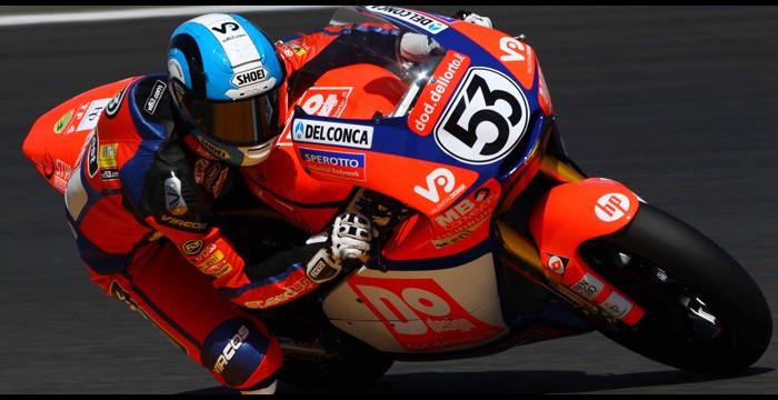 Team SpeedUp - MotoGPRealizzato con vernice Fluo Red